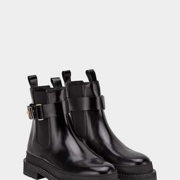 Versace Elastic Insert Ankle Boot for Women | US Online Store