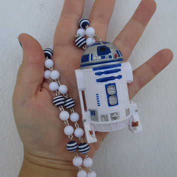 Star Wars Necklace - R2D2 - Robot, Geek Gear