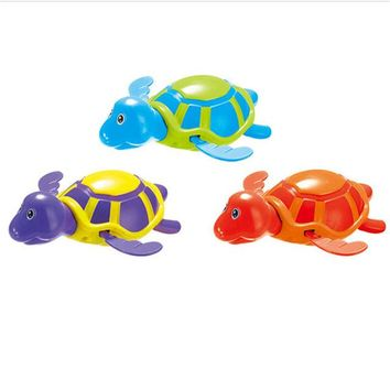 Swimming Pool beach 1pc Random Color Bath Toys Animals Turtle Dolphin Baby Shower Baby Swim Play Toy  Accessories Baby Play In WaterSwimming Pool beach KO_14_1