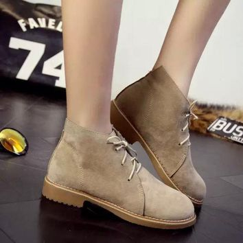 ESBONG Korean Ladies Casual Shoes Boots [9432939786]