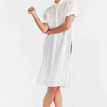 BDG Johnny Side-Split Tunic Shirt