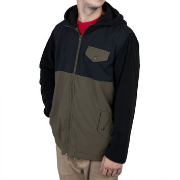 O'Neill - Descender Olive Hooded Jacket