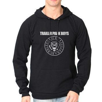 Trailer Park Boys Presidential Logo Licensed Adult Hoodie Sweatshirt - Blk - S