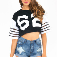 Jersey Shore Cropped Top $26