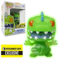 Reptar Glow-in-the-Dark Funko Pop! Animation Nickelodeon Rugrats Exclusive