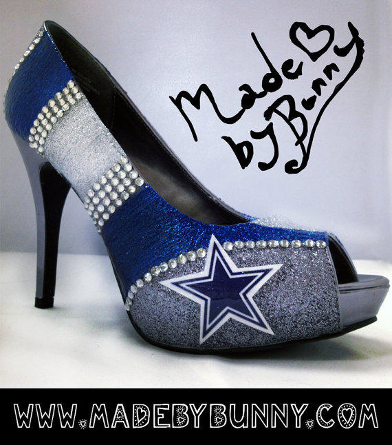 Made To Order Dallas Cowboys Nfl Football From Made By Bunny