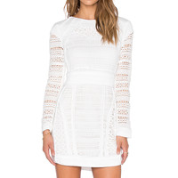ASILIO Back With A Vengance Dress in White & Cream