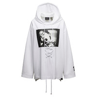 LONG SLEEVE GRAPHIC FRONT LACING HOODIE, buy it @ www.puma.com