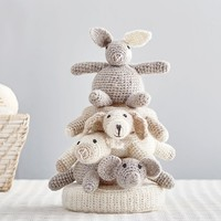 Knit Plush Stacker