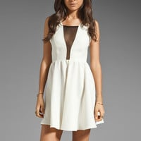 Donna Mizani Pretty Girl Skate Dress in Ivory from REVOLVEclothing.com