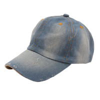 Brand new Baseball Caps Fashion Unisex Jean Sport Hat Casual women men Denim Baseball Cap Sun Hat