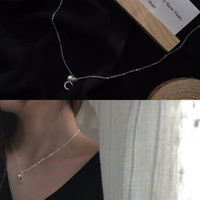 Jewelry Shiny Gift Stylish New Arrival Pearls Simple Design Korean Necklace [10412391828]