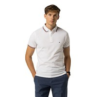 SLIM FIT TIPPED POLO | Tommy Hilfiger
