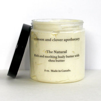 "Build your own body butter- Our classic butter ""The Natural"" tailor made for you! Choose your essential oil/oils to create your own scent!"