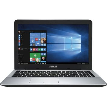 "Asus - 15.6"" Laptop - Intel Core i3 - 4GB Memory - 1TB Hard Drive - Spin Pattern in Black"