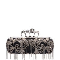 Women Knucklebox clutch - Women Bags on ALEXANDER MCQUEEN Online Store