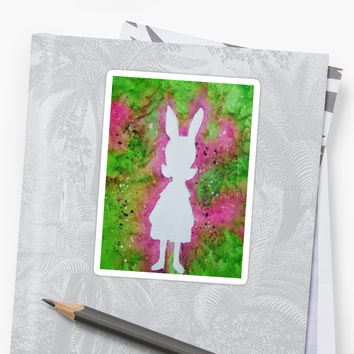 'Louise Belcher' Sticker by Matthew Hanna