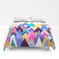 Enchanted Mountains Comforters by Elisabeth Fredriksson
