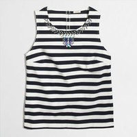 Factory embellished tank top Top