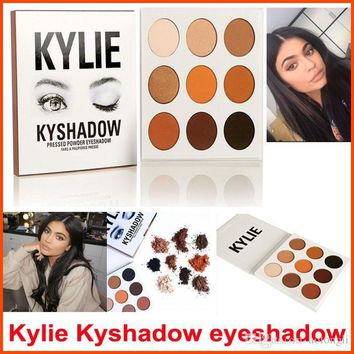 IN STOCK Kyshadow Kit Kylie Jenner Pressed Powder Eyeshadow Palette 9colors/set