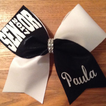Senior 2017 Cheer Bow