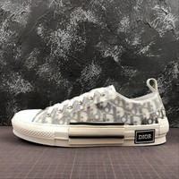 Dior B23 Oblique Low Sneakers - Best Online Sale