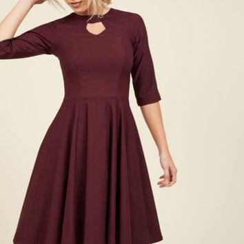 Nostalgically Nuanced Dress | Mod Retro Vintage Dresses | ModCloth.com