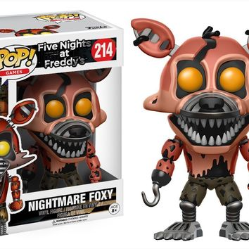 Nightmare Foxy Funko Pop! Games Five Nights at Freddy's