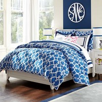 Totally Trellis Comforter + Sham
