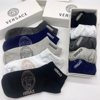 Versace Fashion 5 Pairs Of Set Sock Style #358