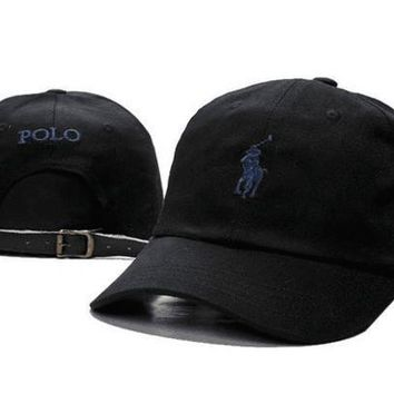 Polo Ralph Lauren Women Men Embroidery Solid Color Baseball Cap Hat-4