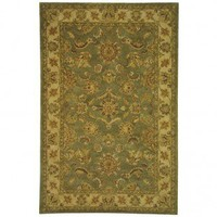 Safavieh Antiquities AT313A Green / Gold Oriental Rug - AT313A - Gold Rugs - Area Rugs by Color - Area Rugs