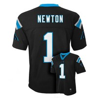 Carolina Panthers Cam Newton NFL Jersey - Boys 8-20, Size: