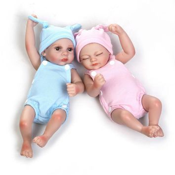Silicone Baby Dolls  100% Into Water Full Silicone 28cm