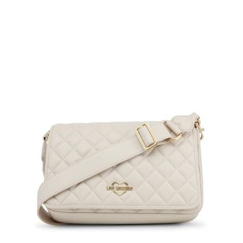 Love Moschino White Crossbody Bag