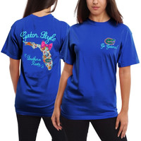 Florida Gators Women's Bright Bow T-Shirt – Royal Blue
