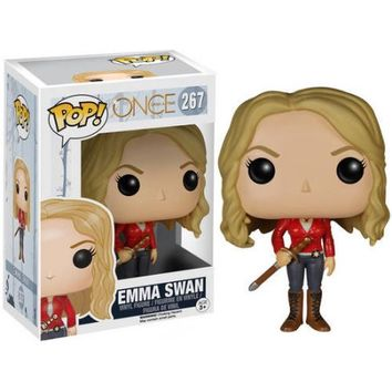 FUNKO POP! TV Once Upon A Time Emma Swan - Walmart.com