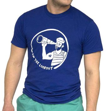 Provincetown 'On the Lookout' Sailor Tee