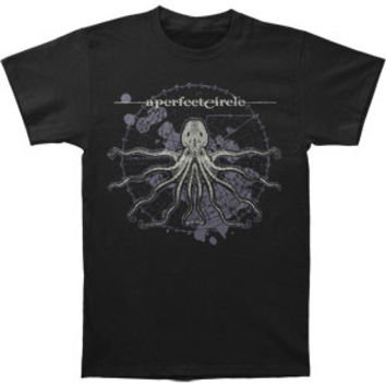 A Perfect Circle Men's  Octo Diagram Slim Fit T-shirt Black