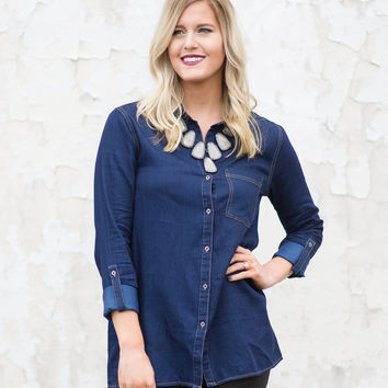 My Forever Love Chambray Shirt