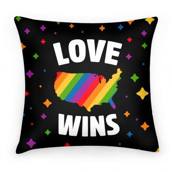 Love Wins | Pillows and Pillow Cases | HUMAN