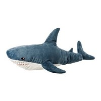 Ikea BLAHAJ 402.980.27 Soft Toy, Shark, 39.25 Inch, Stuffed Animal Plush