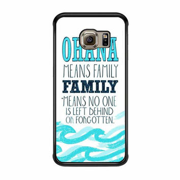 ohana means family lilo and stitch samsung galaxy s7 s7 edge s3 s4 s5 s6 cases