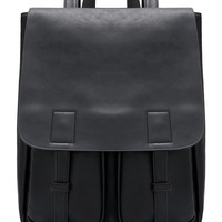 Belt Strap PU Backpacks -SheIn(Sheinside)