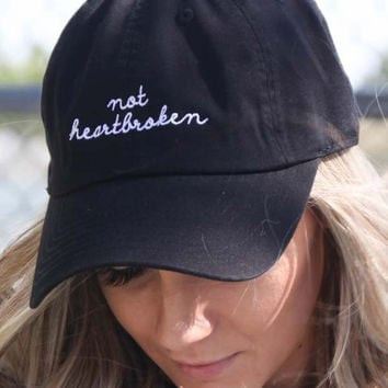 Not Heartbroken Baseball Cap