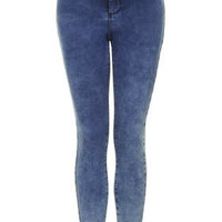 MOTO Mottled Bleach Joni Jeans