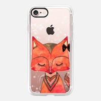 SWEET FOX iPhone 7 Capa by Li Zamperini Art | Casetify