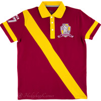 Wizarding World Harry Potter Quidditch Gryffindor 07 Polo Shirt Diagon Alley NEW