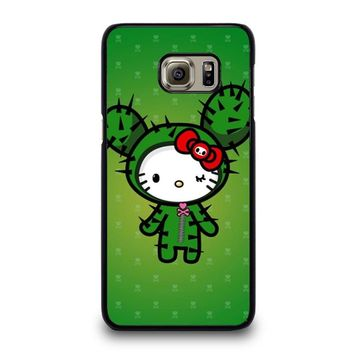 HELLO KITTY DOKITOKI DONUTELLA Samsung Galaxy S6 Edge Plus Case Cover