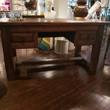 18th Century French Oak Desk from the Pyrenees Area